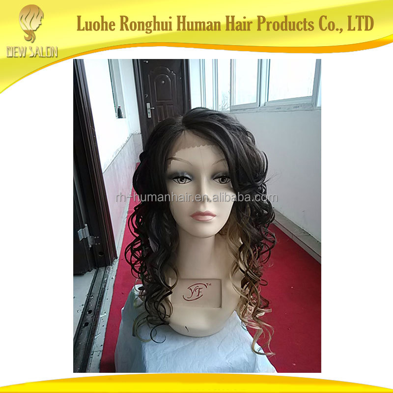 Best quality swiss human hair lace front wig