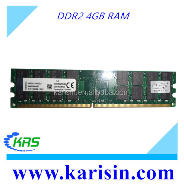 Cheap price 2pieces (2x4gb) AMD 8gb ddr2 800 pc2 6400 ram with original chips