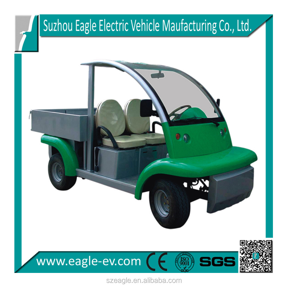 electric utility car, 2 seats, 48V 4KW DC motor, model EG6043KDX, widely used by hotel, resort