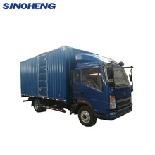 SINOTRUK howo cargo truck with cheap price 5 ton van truck