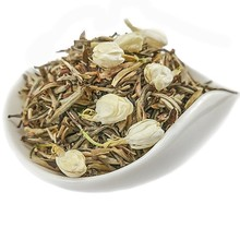 Wholesale organic Fujian jamsine fragrance white <strong>tea</strong> Bai Hao Yin Zhen/White silver needle of skinny body <strong>tea</strong>