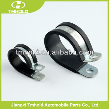 Mini size fixing p-clip with rubber for car