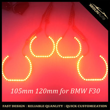RGB multi color 105mm 120mm F30 led angel eyes without covers for BMW