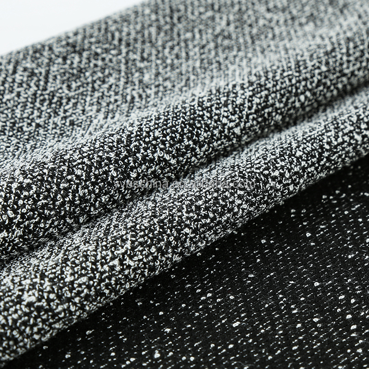 Pronto moda polyester rayon spandex stretch popcorn design soft hand feel knitted <strong>fabric</strong>