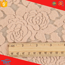 Guipure Style new design nylon brushed lace fabric for african people