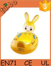 Cartoon Inflatable Safety Seat Float Raft Chair Swimming Pool Toy for Baby Child