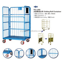 Warehouse Rolling Metal Storage Cage Cart YD-L007 from Suzhou Yuanda