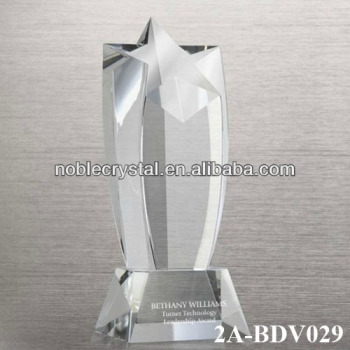 Crystal Shooting Star Trophy