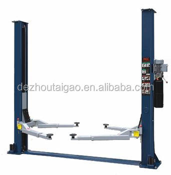 Cheap price 3500kg hydraulic auto used 2 post car lift for sale