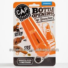 Cap Zappa ~ Bottle Opener & Cap Shooter on a Keyring by Spinning Hat