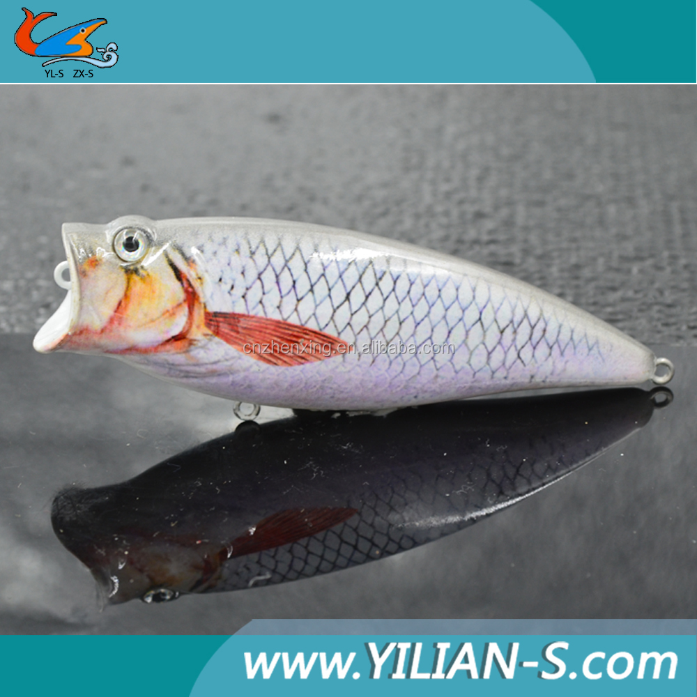 Various types of fishing popper lure artificial lures direct from China