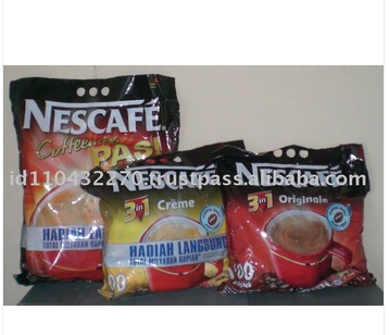 Indonesia NESC0002 Instant Nescafe 3in1 (100pcs x 6 bags)