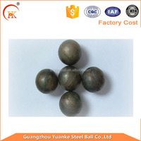 Smooth Wear 65 Mn material of ball mill grinding media steel ball for iron ore