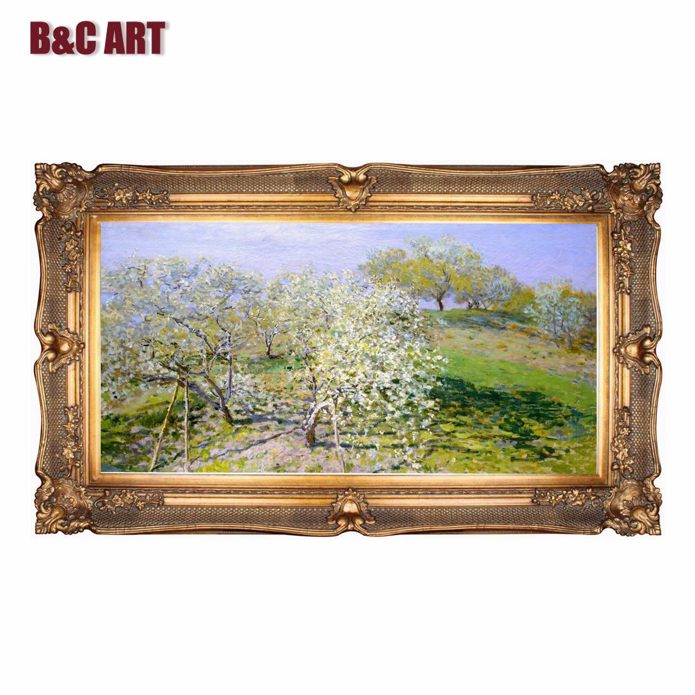 Baroque Picture Frame Wholesale Canvas Wooden Frame For Interior ...