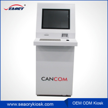 Call system restaurant mobile phone charging vending machine kiosk for airport