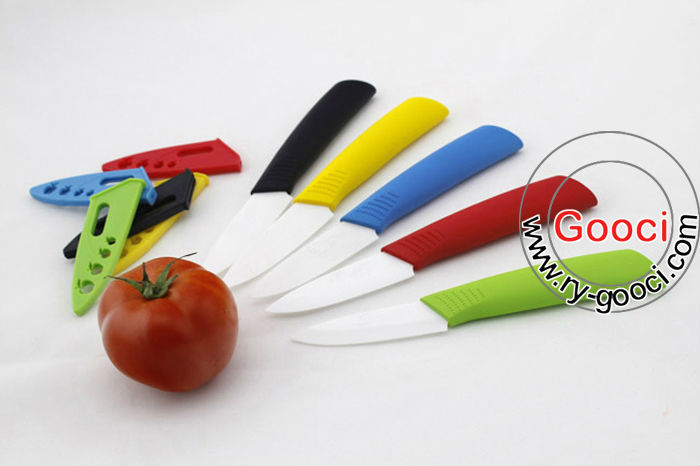 "NEW 3""inch Ultra Sharp Kitchen Ceramic Cutlery Knives"