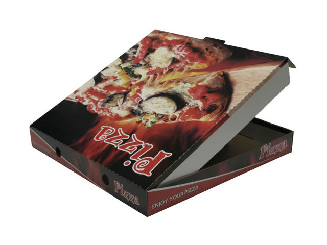 offset printed pizza box