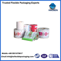 Italy spaghetti noodle and pasta packaging bag and food plastic packaging film
