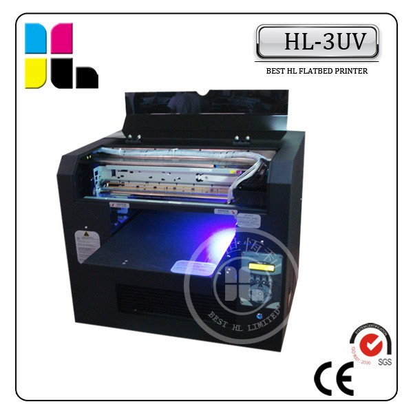 2015 Hight Quality UV Flat Printer,Bottle Printing Machine 5 colours, Cylinder Printer