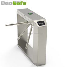 DaoSafe QR Code Coin Operated TurnstileTripod Tourniquet System With ZKteco Access Control Swing Flap Barrier