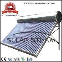 Solar Storm stainless steel high quality solar water heater 300L