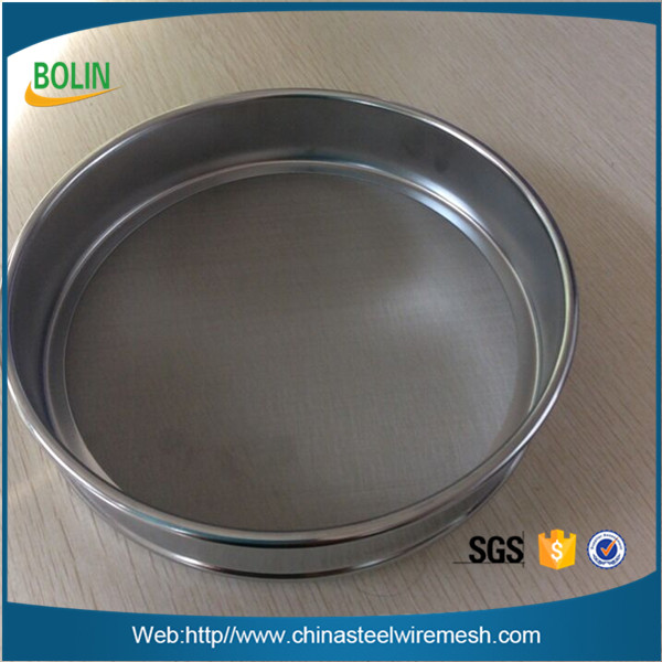 Customize 5 10 25 30 50 micron stainless steel mesh standard test sieve
