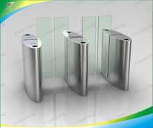 304 Stainless Steel Waterproof Speed Gates , Access Control turnstiles for Outside