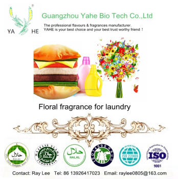 High concentration and long lasting flower fragrances used in detergent with factory direct price