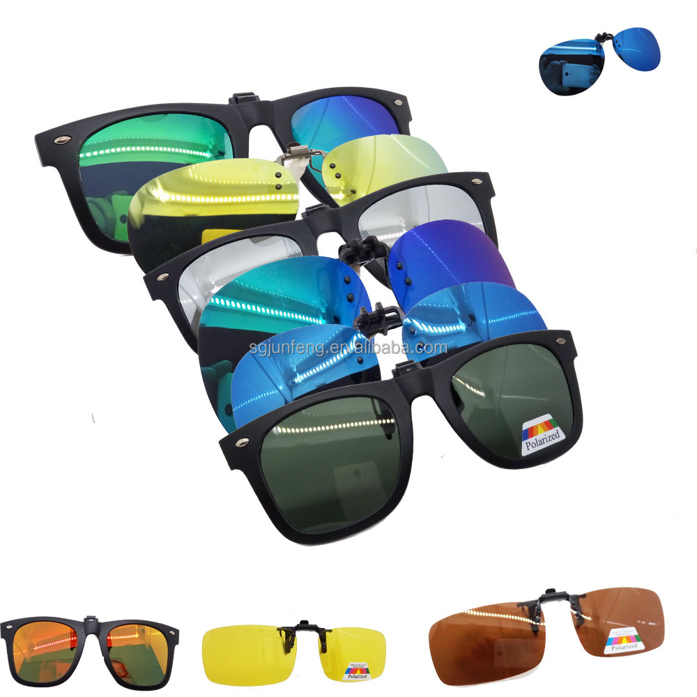 Bright Vision clip on sunglasses clip polarized clip on sunglasses