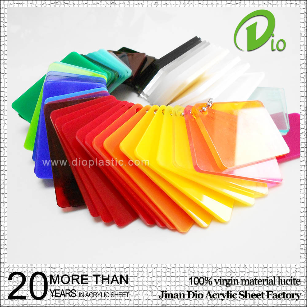 high transmittance plexiglass board cast colored acrylic sheet price