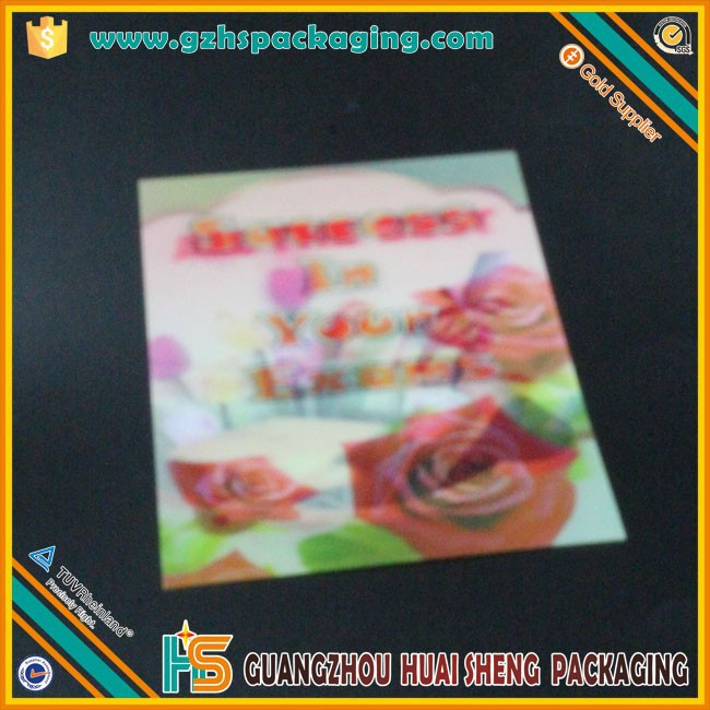 Latest High Quality Plastic Vip Card 3d Plastic Visiting Cards