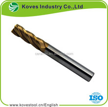 Hot selling cnc lathe tungsten carbide coated corner radius endmills cutting tools with great price