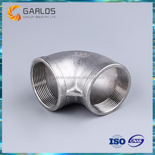 Stainless steel water pipe fitting female thread 90 degree elbow