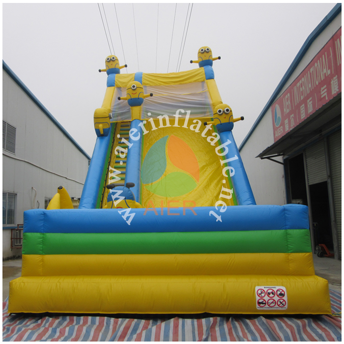2016 commercial use inflatable wet and dry Slide for kids play in best price/cheap price inflatable slide