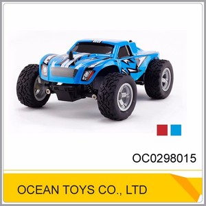 Vehicle toy 1:24 rc 2.4G aff-road power wheels toy car with red blue color OC0298015