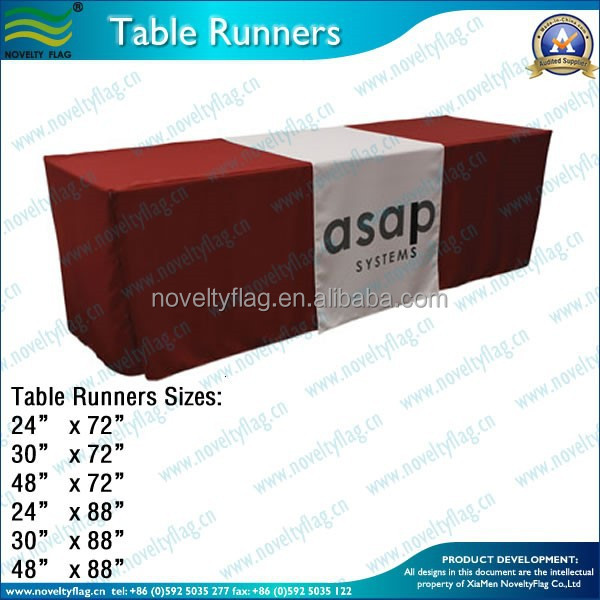 300D fabric Custom Table runner