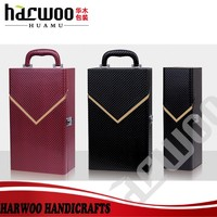 High quality bottle leather wine carrier with accessories