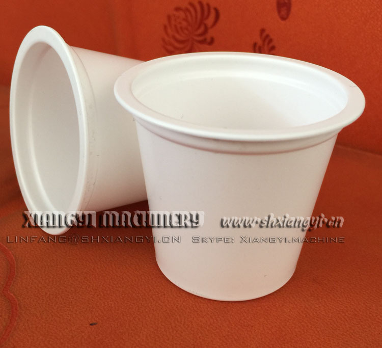 empty k cup for automatic coffee filling and packing machine