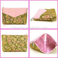 new arrival folding travel cosmetic bag cat printing cosmetic bag