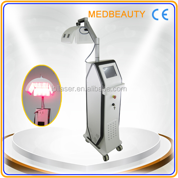 2014 New Arrival high frequency microcurrent treatment laser hair growth machine to salon
