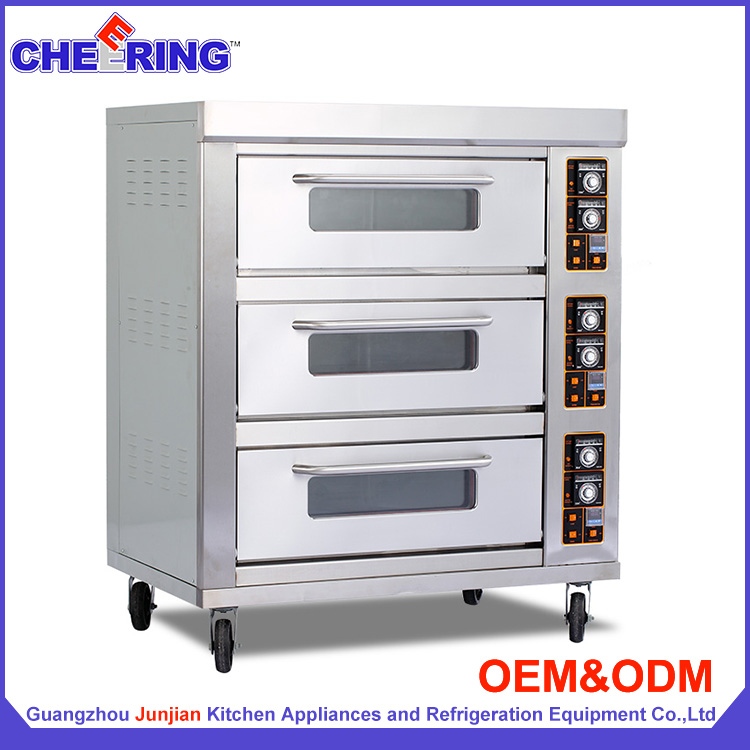 Kitchen chicken moving baking machine electric pizza oven with wheels