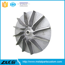 Industrial Die casting Air Blower impeller for housing machine with 14 year manufactuering experience