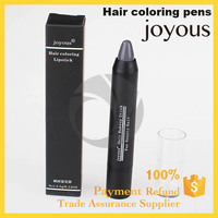 gray silvery white black brown best hair chalk pens joyous hair coloring Non Toxic Temporary Hair Dye Colour Soft Pastels