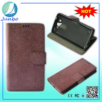 Stylish fashionable custom flip cover wallet leather case for lg e975