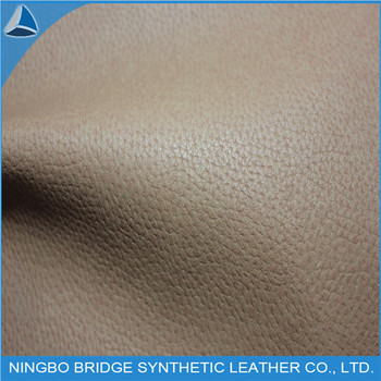 PU Synthetic Leather for Shoe Lining With Lichee Grain