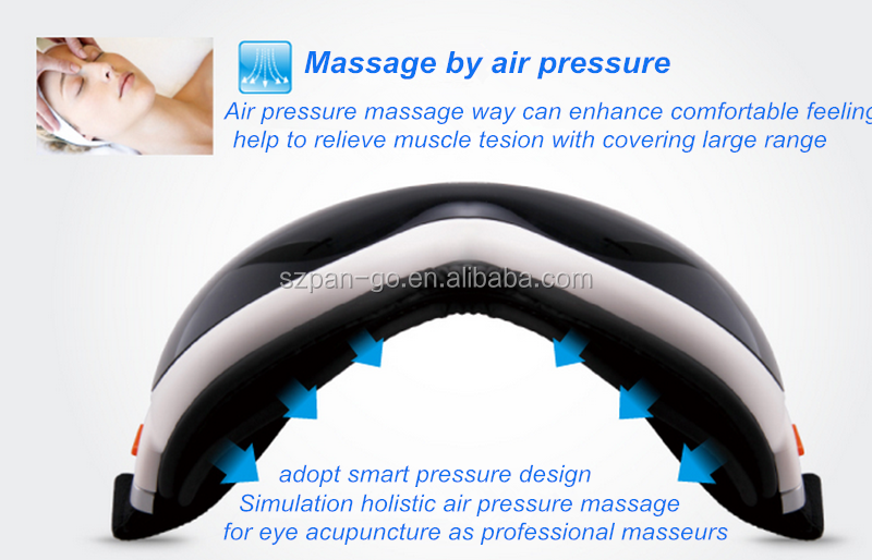 Best Selling Vibrating Air Pressure Heating Eye Massager