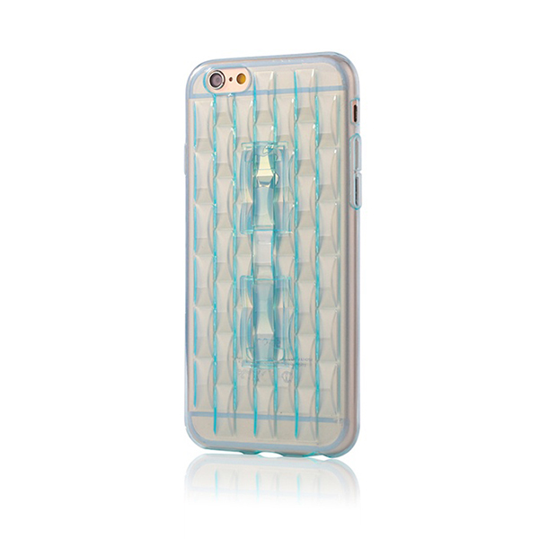 IP5002 Cell Phone Ice Sculpture TPU Cover Case for iPhone 5S