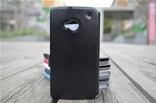 Luxury Leather Flip Wallet Cover For HTC One M7 Case