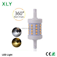 Made In China 5W 600lumen High Bright 2835SMD 40pcs Led Spot Bulb Light Replacement 150W Halogen Lamp Led R7S 78mm