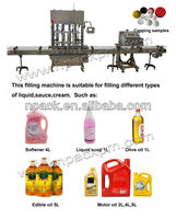 Full automatic ethereal oil filling machine